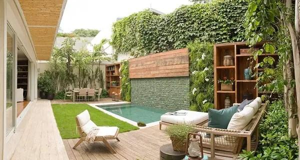 Piscinas en patios pequeos Fotos de piscinas pequeas
