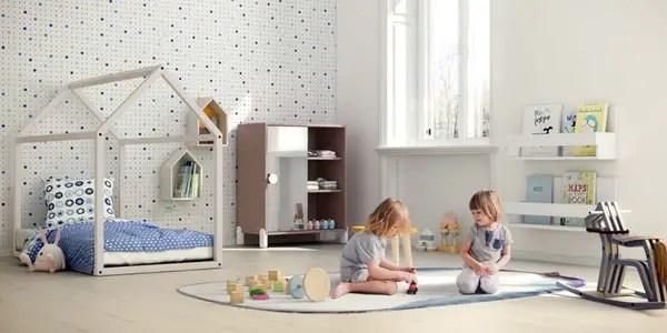 Decoracin infantil segn el mtodo Montessori