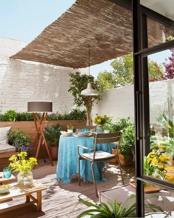 Decoracin de terrazas pequeas Terrazas modernas