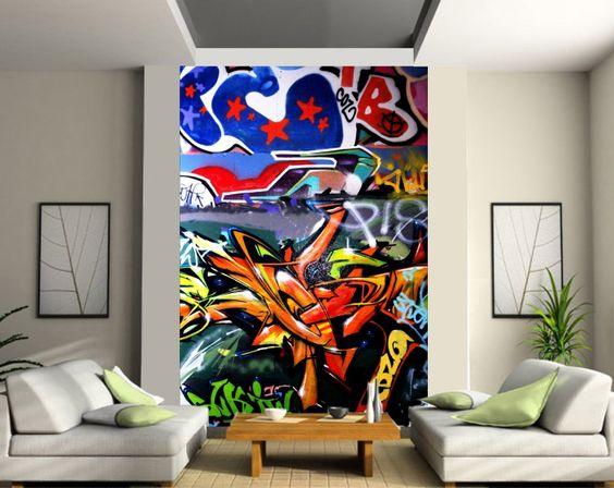 Graffiti Indoor Cuando La Calle Decora Nuestra Casa Estilo Y - Graffitis-en-casa