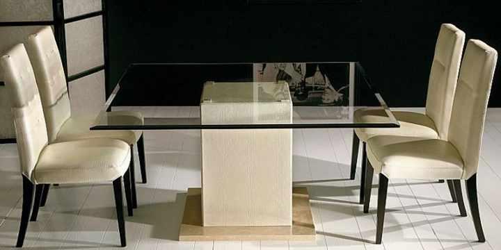 El vidrio en las mesas, infinitas posibilidades