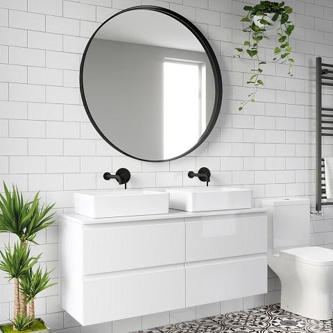 Cuatro ideas para hacer que el baño parezca más grande
