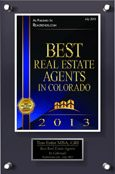 2013 Best Agent CO Estin w name 96res 115w