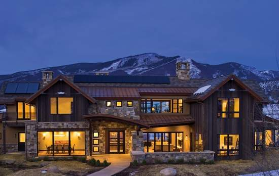Aspen's 1st Gold LEED Certifed Home Sells At Auction, HuffPost Image