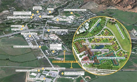 AVF Continues to Plan Basalt Retirement Community, AT Image