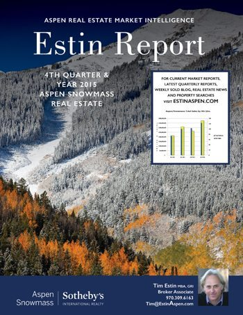 Yodel from the Mountains! A Brief 2015 Year End Aspen Snowmass Real Estate Advance Summary Image
