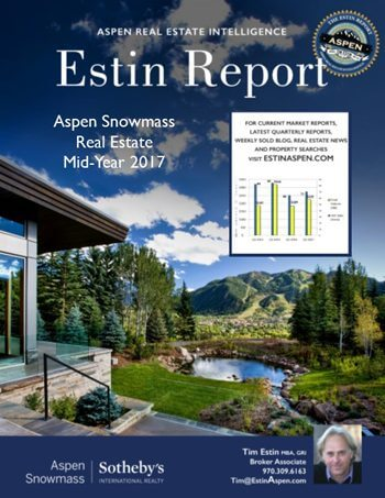 Yodel from the Mountains! Estin Report: Mid-Year 2017: State of Aspen Real Estate Image