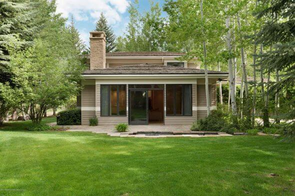 Roaring Fork Dr Aspen Home Built 1983 Sells for $8.9M Image