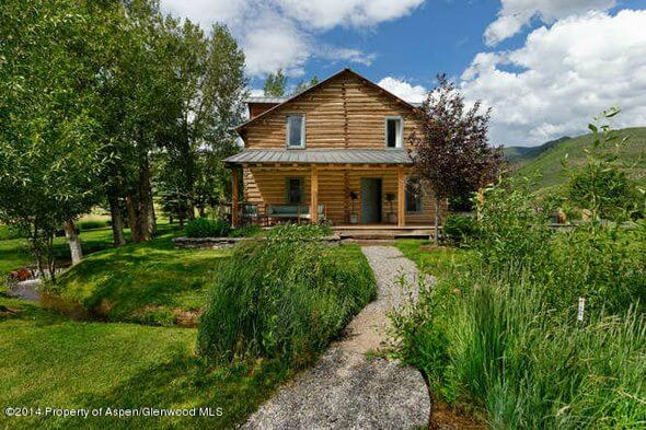 "Aspen ""Cowboy's Cabin"" with 41 Acres Sells for $4.45M/$2,814 Sq Ft Image"