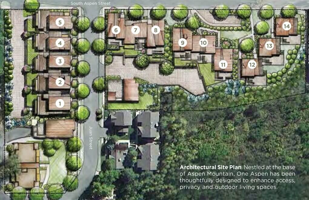 Five 'OneAspen' Townhomes Near Lift 1A Base Close at Avg. $8.55M/$1,732 sq ft Image