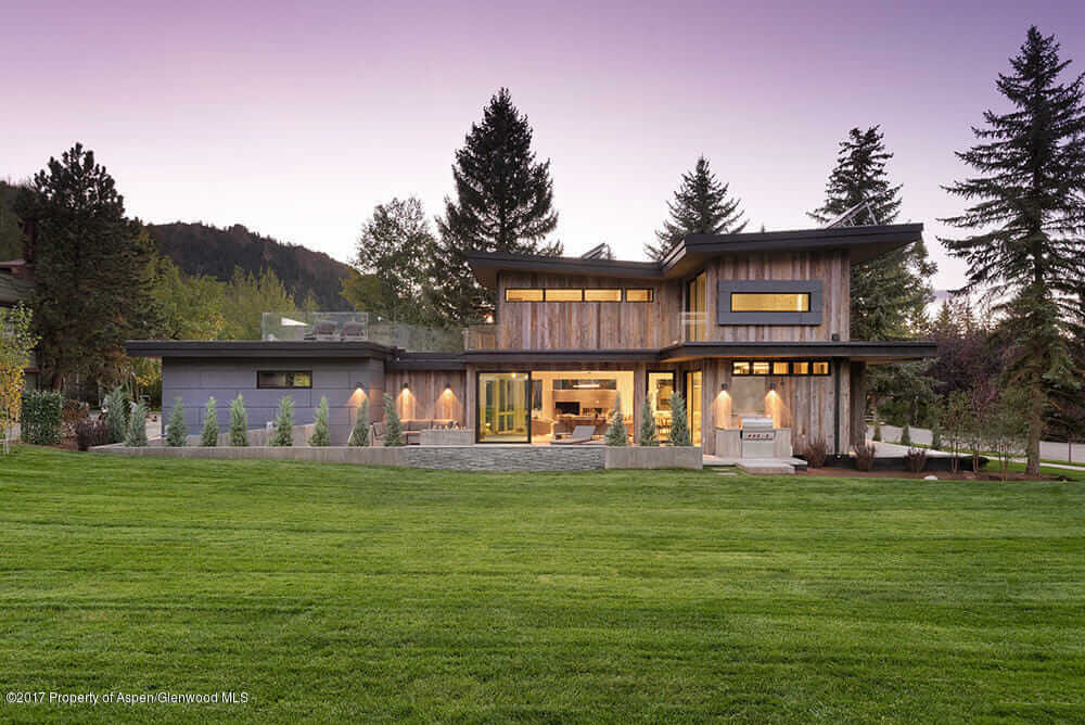 Contemporary Aspen CO Spec Home at 905 E Hopkins Sells at $13M/$2,665 SqFt Image