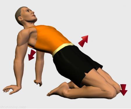 Estiramiento (stretching, streching) recomendado para:  triatlón,  kitesurf,  piernas,  cuádriceps.