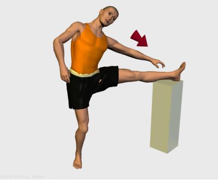 Estiramiento (stretching, streching) recomendado para:  voleibol,  danza,  artes Marciales,  gimnasia,  piernas,  aductor.