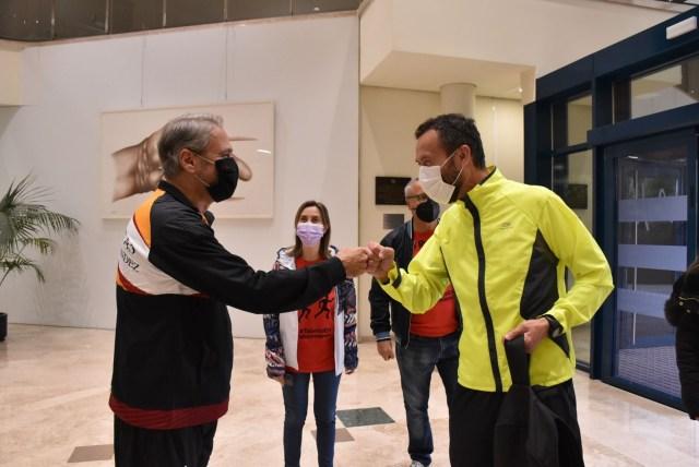 Circuito V-Running en el campus de Elche