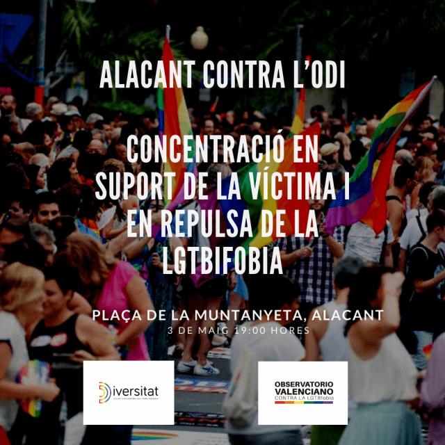 El Ayuntamiento de Elche condena la agresión homófoba de Alicante