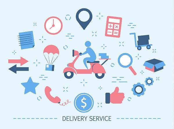 Trabalhar com delivery - logística