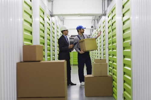 Formato e restrições do self storage