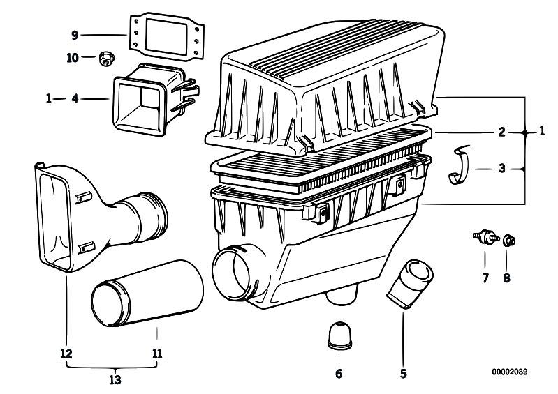 Original Parts for E36 316i M43 Touring / Fuel Preparation