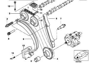 Original Parts for E39 530d M57 Sedan  Engine Timing