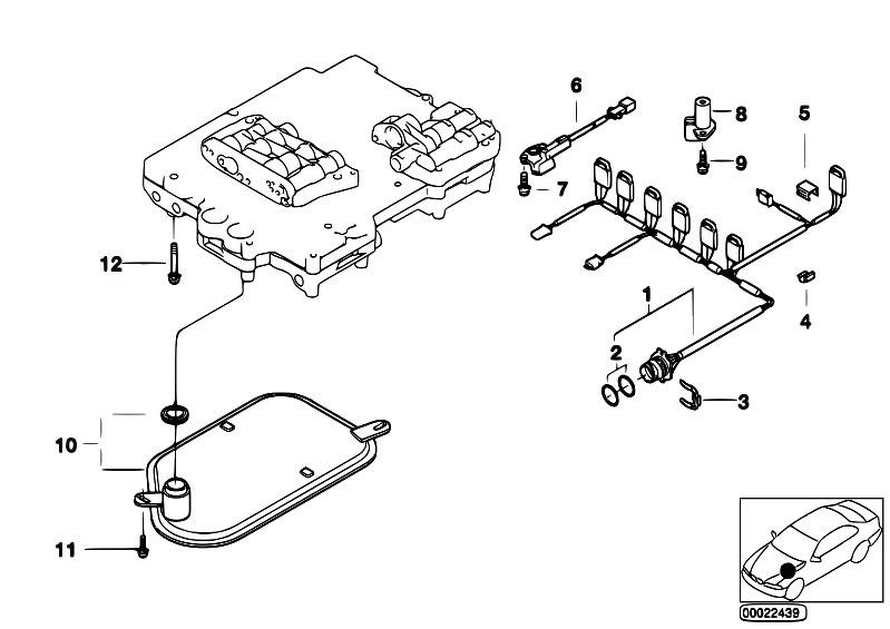 Original Parts for E85 Z4 2.2i M54 Roadster / Automatic