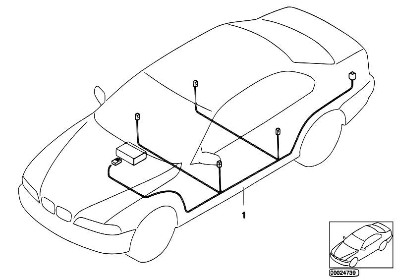 Original Parts for E46 316Ci M43 Coupe / Audio Navigation