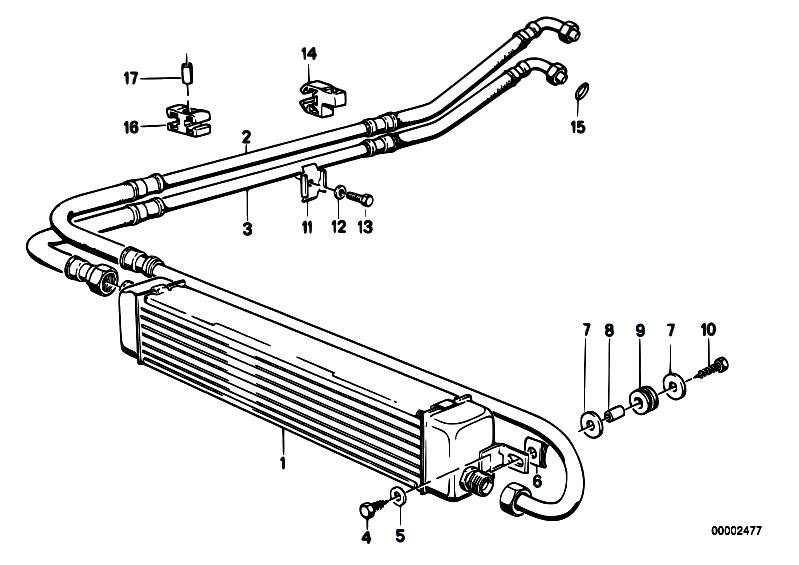 Original Parts for E30 325ix M20 4 doors / Radiator