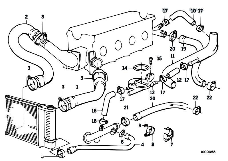 e30 coolant diagram