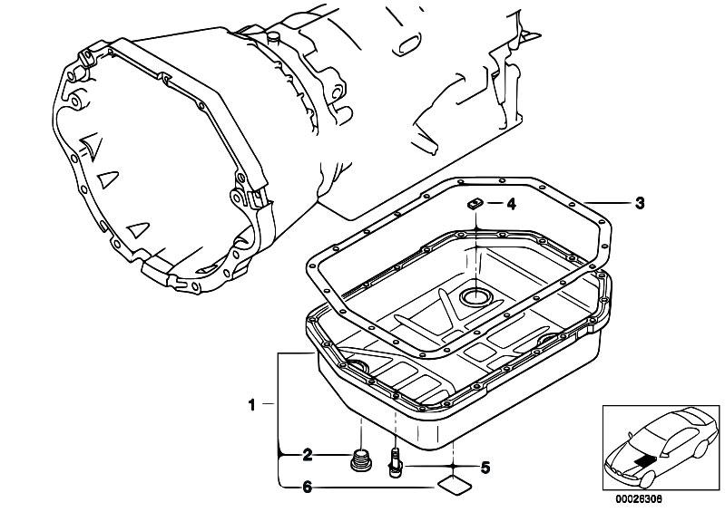 Original Parts for E38 730d M57 Sedan / Automatic