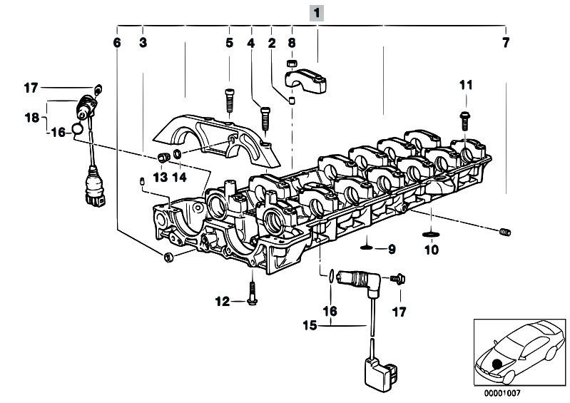 Original Parts for E36 M3 3.2 S50 Sedan / Engine/ Cylinder