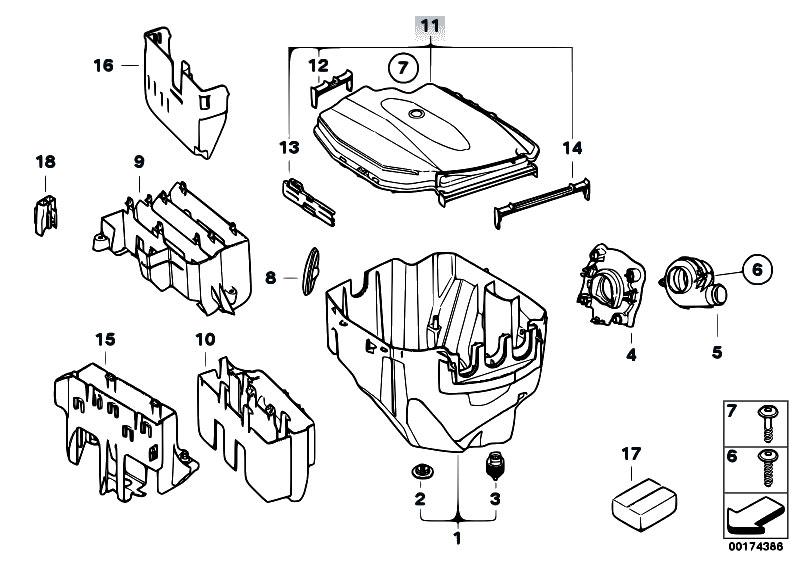 Original Parts for E91 320d N47 Touring / Engine