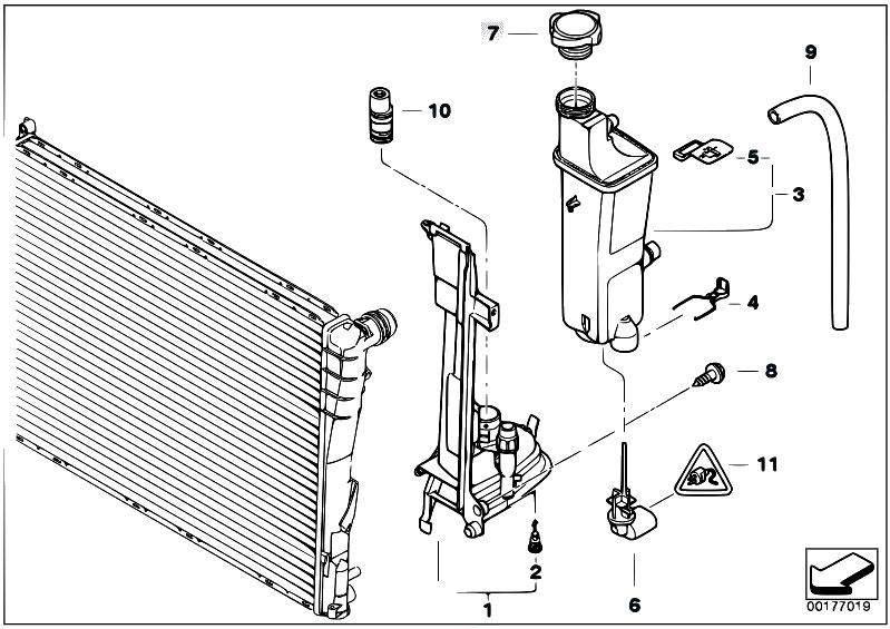 Original Parts for E46 320d M47N Touring / Radiator