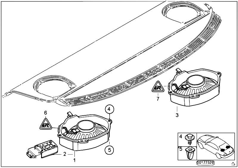 Original Parts for E46 316i N40 Sedan / Audio Navigation