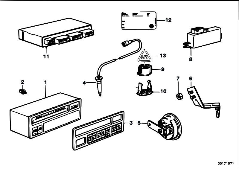 Original Parts for E31 840Ci M62 Coupe / Instruments