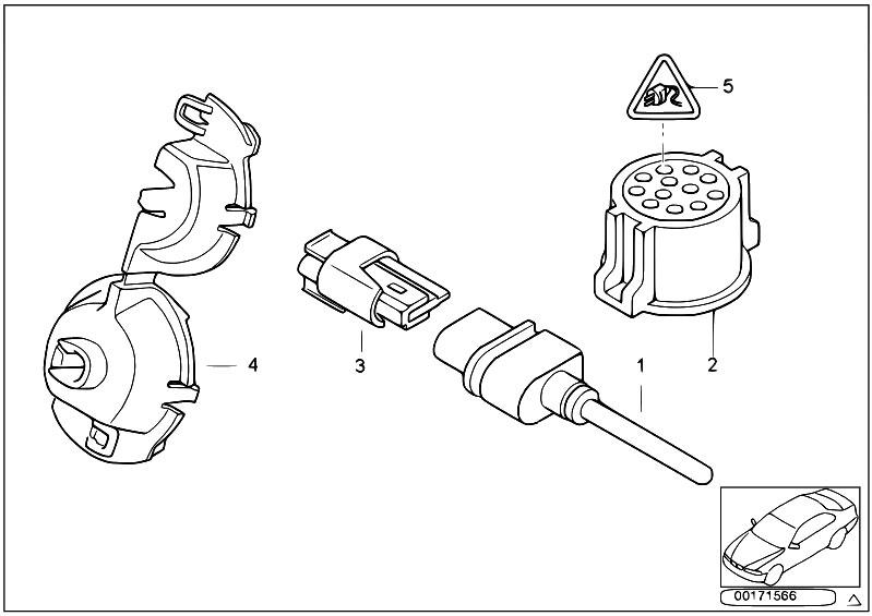 Original Parts for E46 320d M47N Touring / Audio