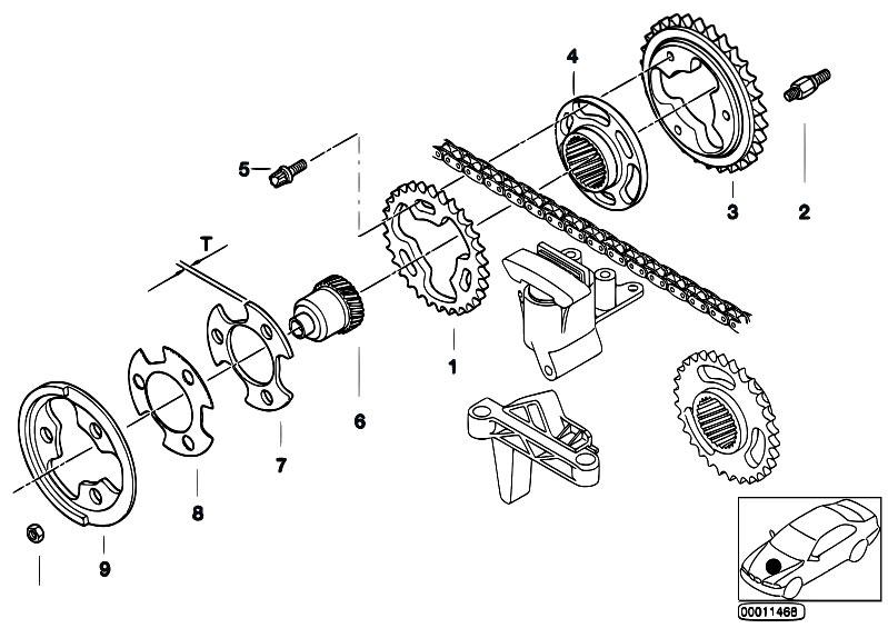 Original Parts for E60 530i M54 Sedan / Engine/ Valve