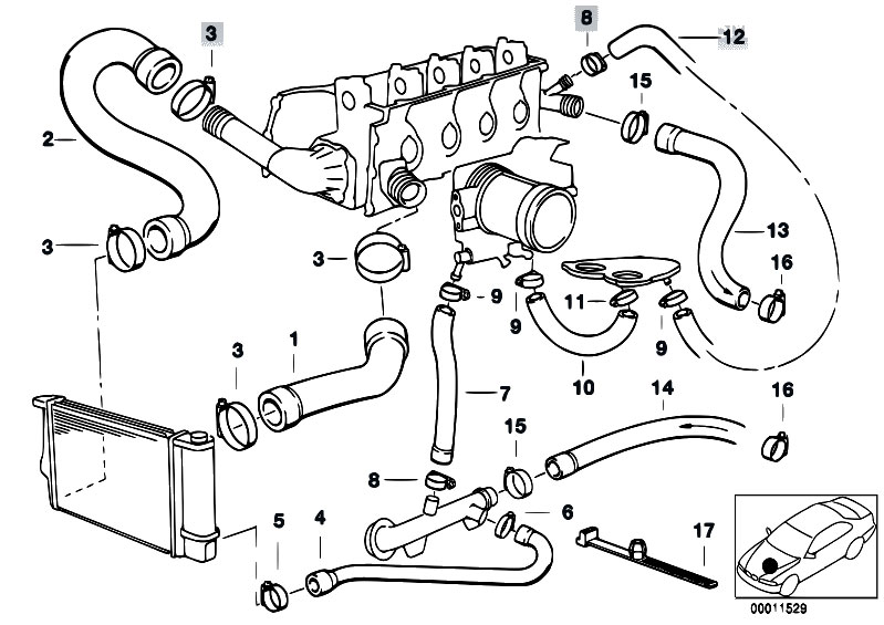 bmw m43 engine diagram