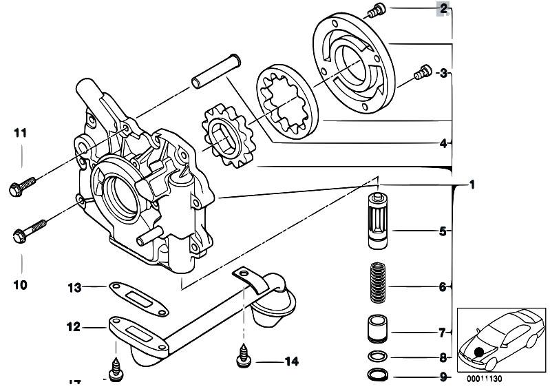 Original Parts for E46 320d M47 Touring / Engine