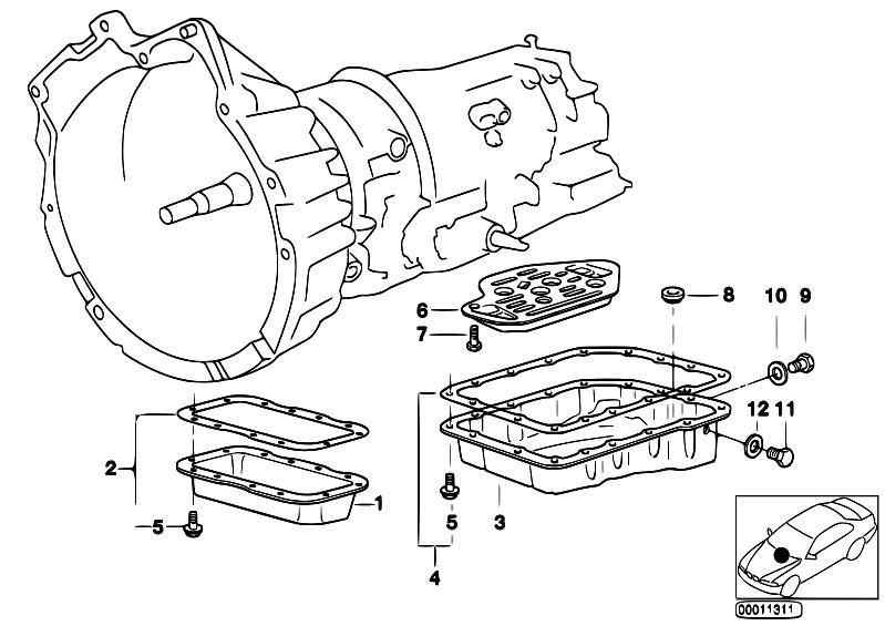 Original Parts for E34 525i M50 Sedan / Automatic