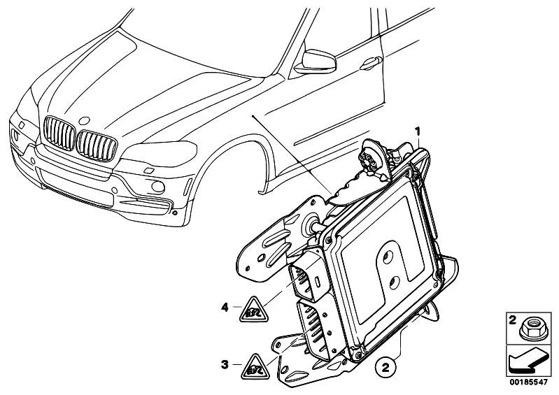Original Parts for E71 X6 50iX N63 SAC / Steering/ Control
