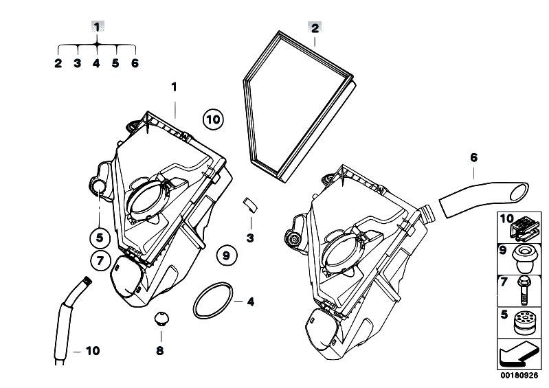 Original Parts for E91 320d N47 Touring / Fuel Preparation
