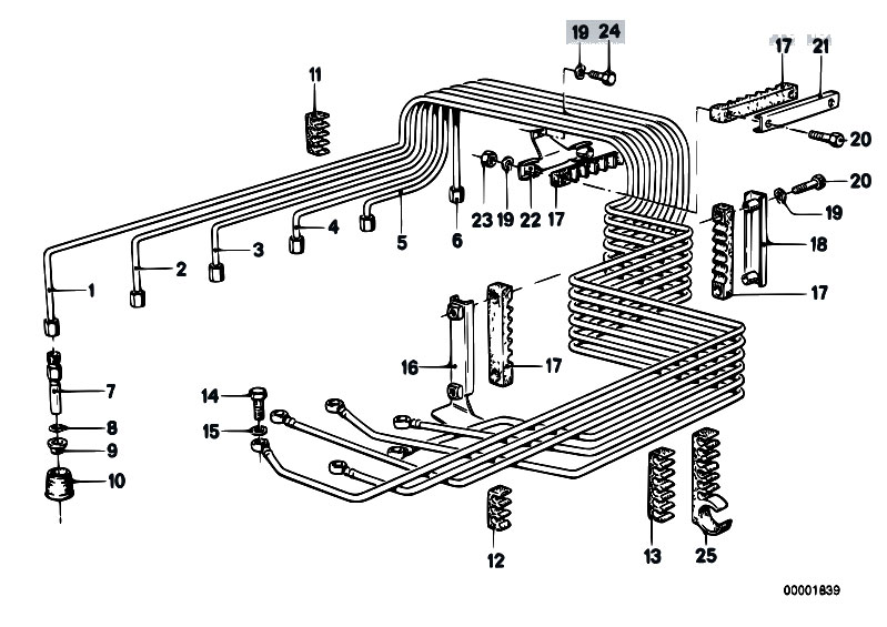 Original Parts for E21 323i M20 Sedan / Fuel Preparation