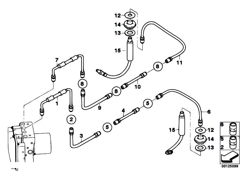 Original Parts for E64 645Ci N62 Cabrio / Brakes/ Brake