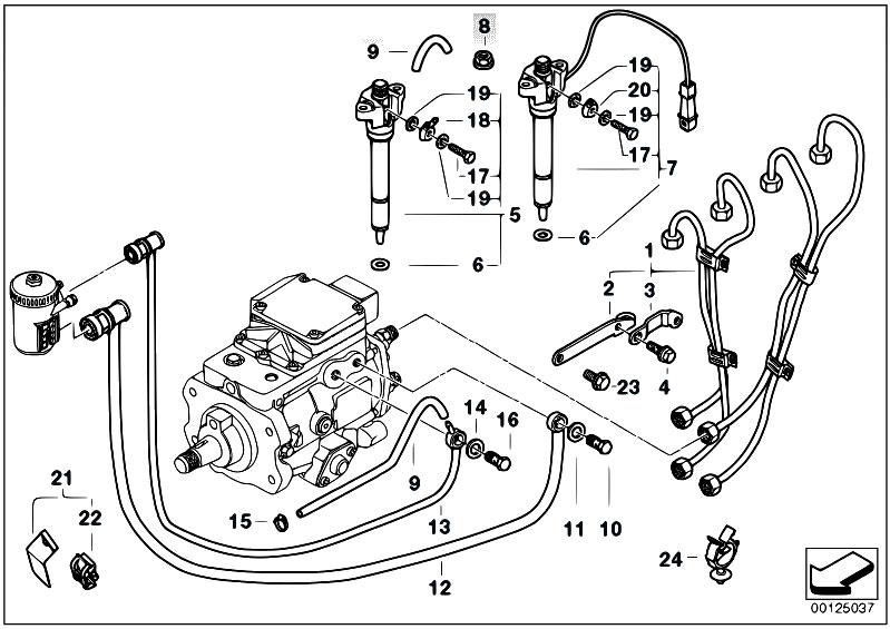 Original Parts for E46 320d M47 Touring / Fuel Preparation