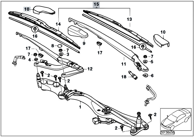 Original Parts for E65 745i N62 Sedan / Vehicle Electrical