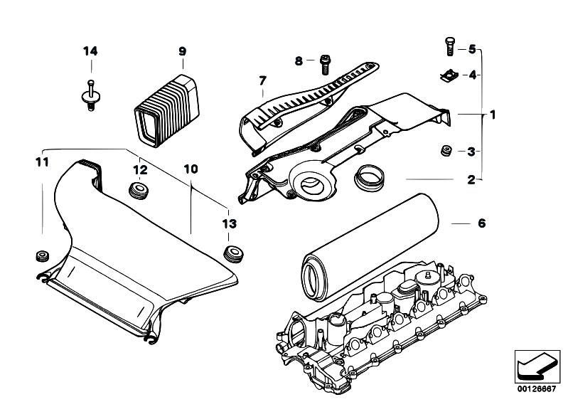 Original Parts for E46 330Cd M57N Coupe / Fuel Preparation