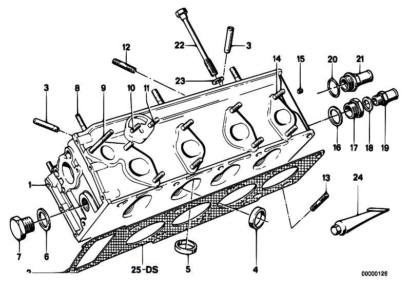 Original Parts for E21 316 M10 Sedan / Engine/ Cylinder