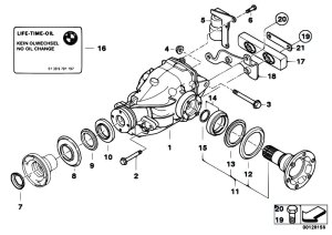 Original Parts for E46 330Cd M57N Coupe  Rear Axle