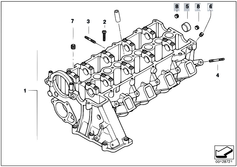 Original Parts for E46 320d M47 Sedan / Engine/ Cylinder