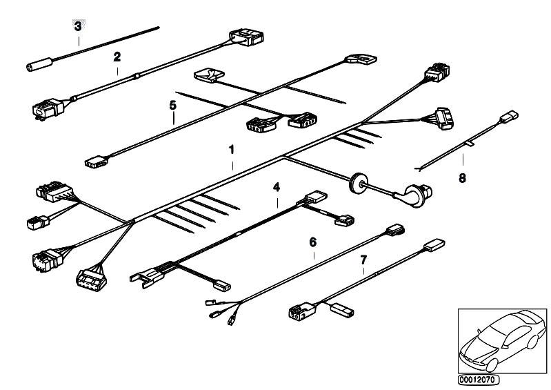 Original Parts for E36 318ti M42 Compact / Vehicle