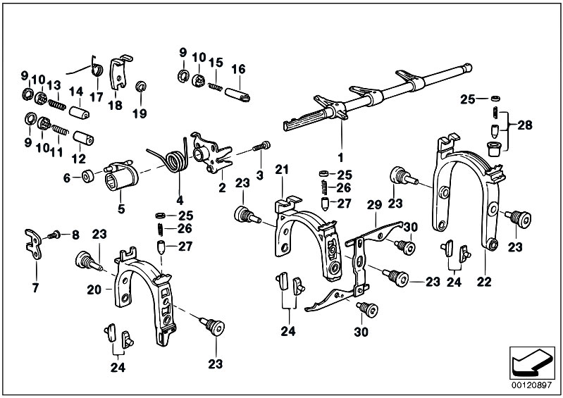 Original Parts for E36 325tds M51 Touring / Manual